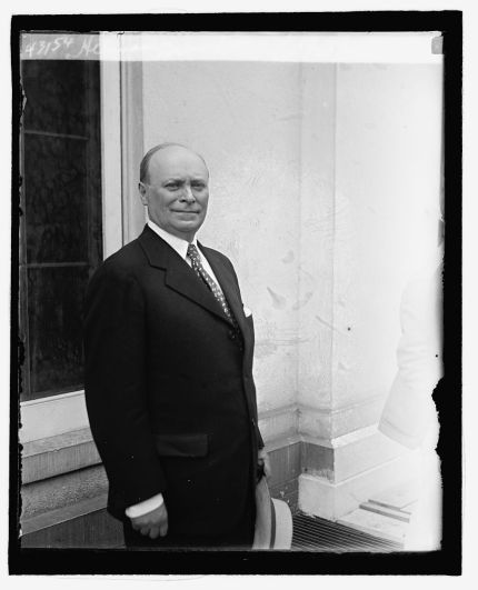 Herman Bernstein, just prior to being made ambassador to Albania by Herbert Hoover.