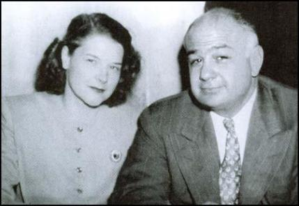 Ernest Cuneo with Margaret Watson.