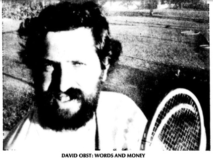David Obst Words and Money Headshot