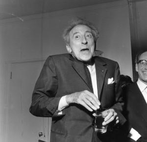 The ever entertaining Jean Cocteau.