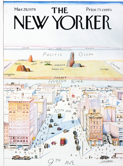 1976 New Yorker cover