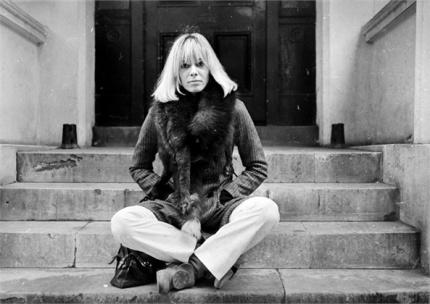 Anita Pallenberg courtesy of Italian Vogue.