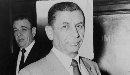 International mafioso Meyer Lansky.