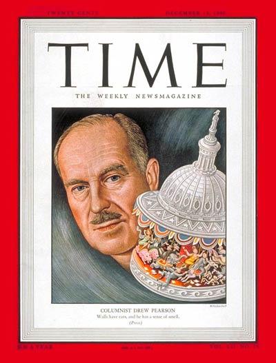 Drew pearson Time magazine 1948 Dec 13