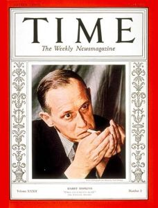 Harry Hopkins' July 18, 1938 cover, the last of three TIME covers enjoyed by the KGB asset.