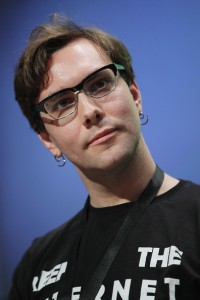 Jacob Appelbaum, the face of the Tor Project. Check out all the weirdness around him here.